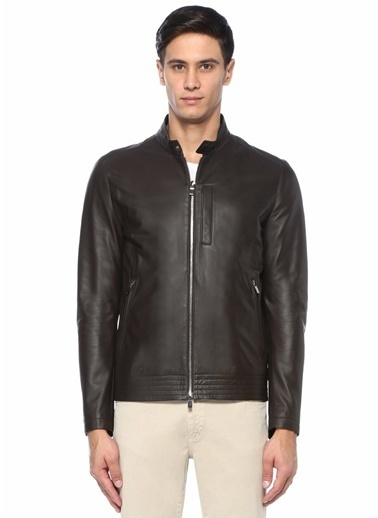 Beymen Collection Deri Bomber Mont Kahve